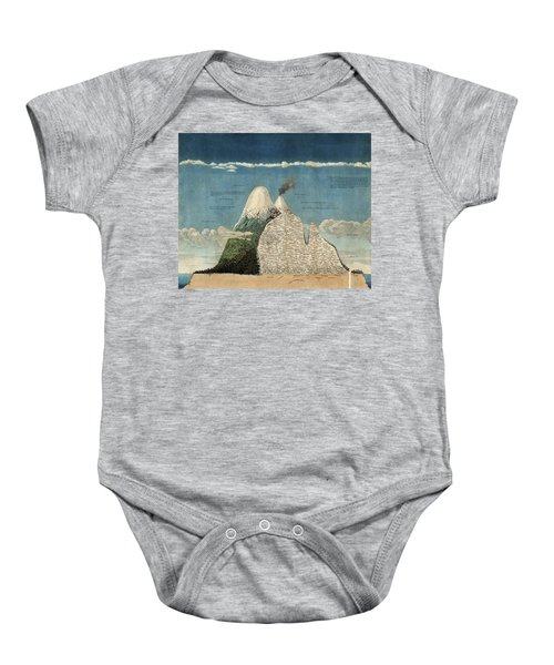 Alexander Von Humboldts Chimborazo Map Baby Onesie