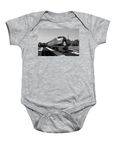 Amazing Trainyard Baby Onesie