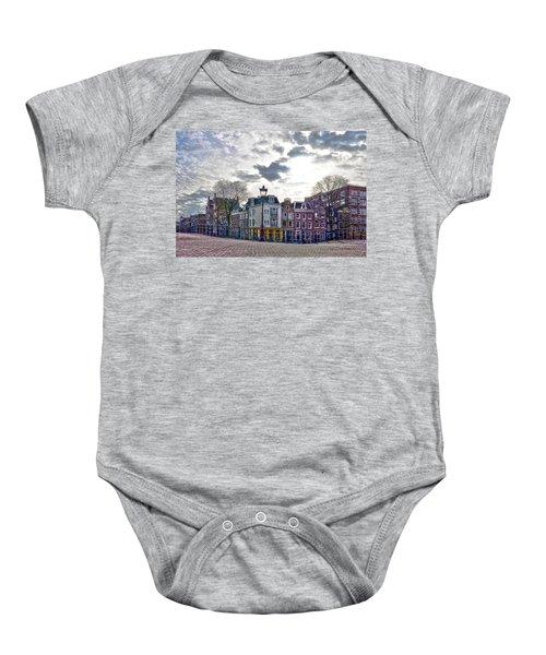 Amsterdam Bridges Baby Onesie