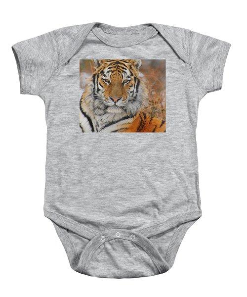 Amur Tiger Magnificence Baby Onesie
