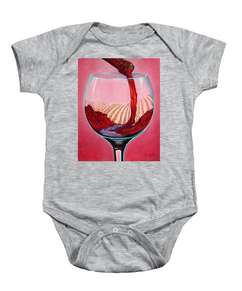 ...and Let There Be Wine Baby Onesie
