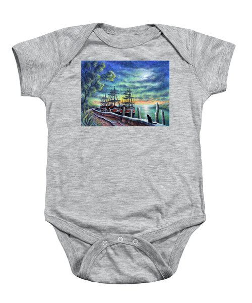 And We Shall Sail My Love And I Baby Onesie