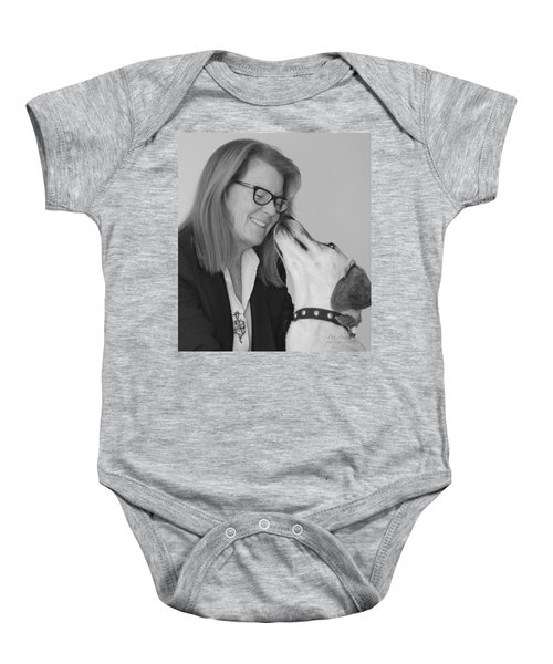 Andrew And Andree Bw Baby Onesie