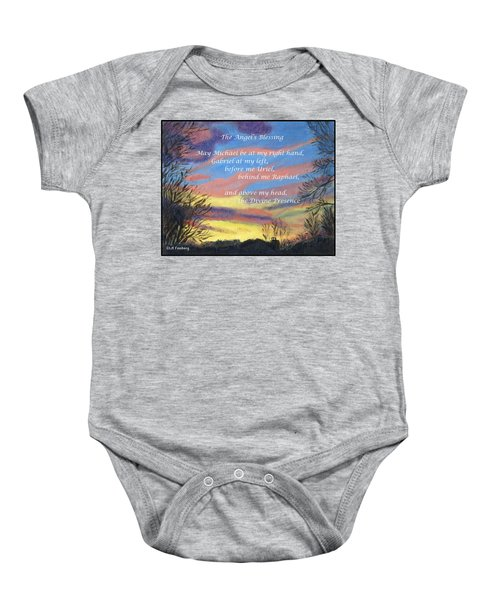 Angel's Blessing Baby Onesie