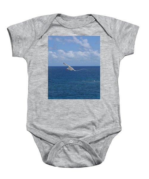 Antigua - In Flight Baby Onesie