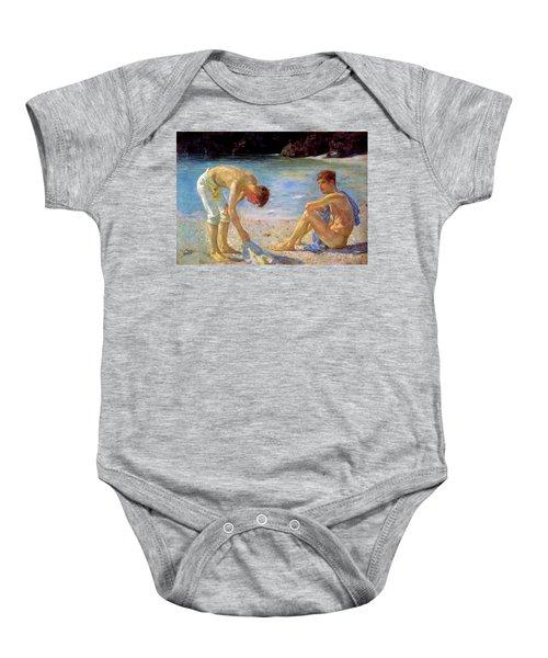 Aquamarine   Baby Onesie