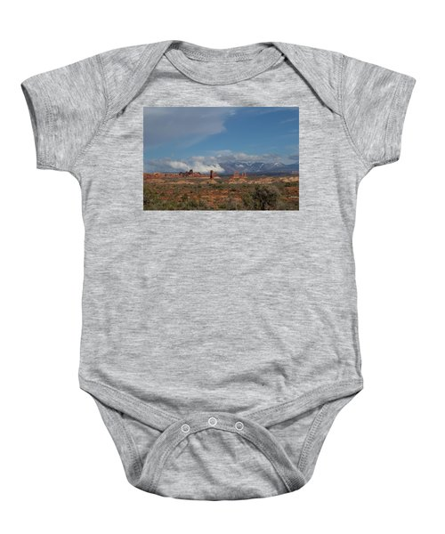 Arches National Monument Utah Baby Onesie