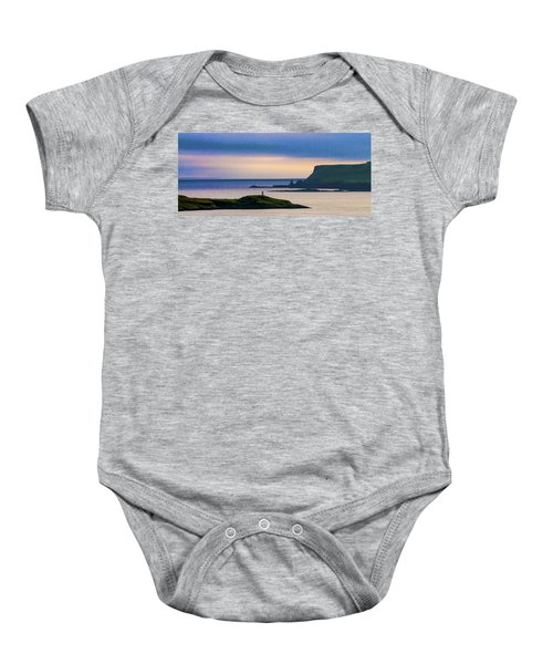 Ardtreck Point Lighthouse Baby Onesie
