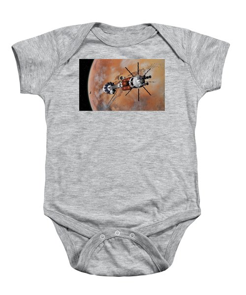 Ares1 Within Range For Rendezvous Baby Onesie