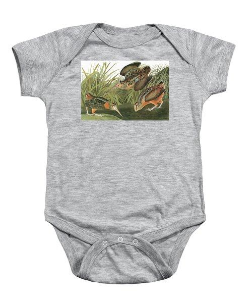 Audubon Woodcock Baby Onesie