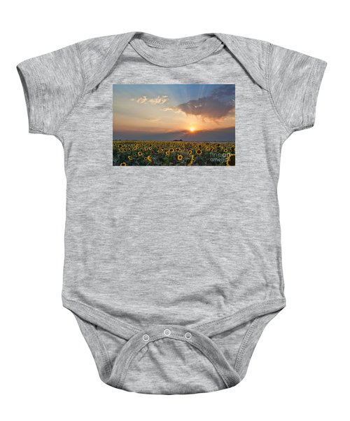 August Dreams Baby Onesie