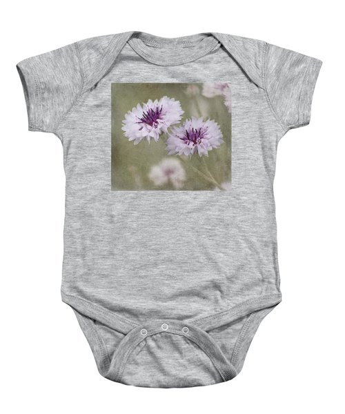 Bachelor Buttons - Flowers Baby Onesie