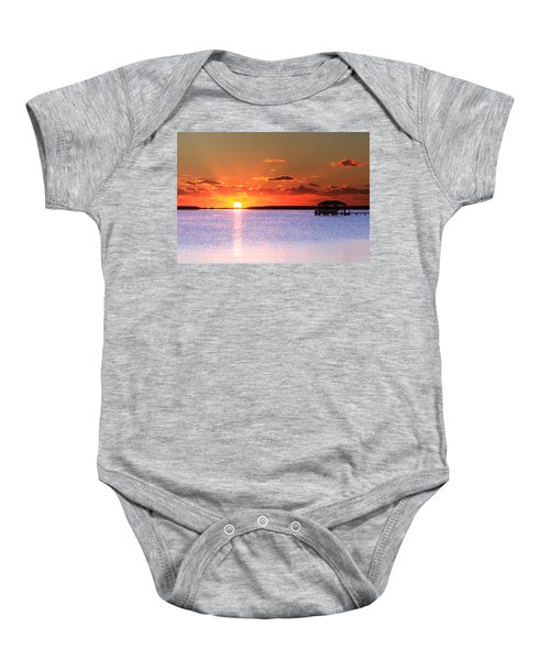 Back Bay Sunrise Baby Onesie