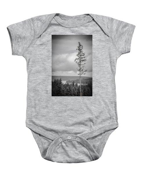Tall Tree View Baby Onesie
