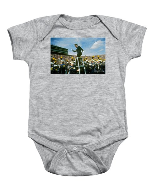 Band Director Baby Onesie by James L. Amos