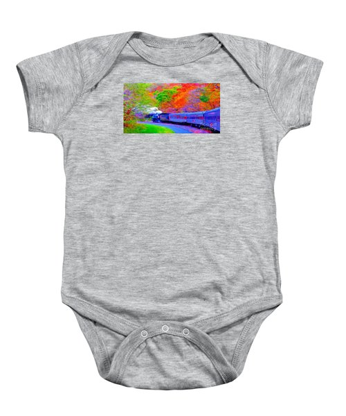 Bang Bang Choo Choo Train-a Dreamy Version Collection Baby Onesie