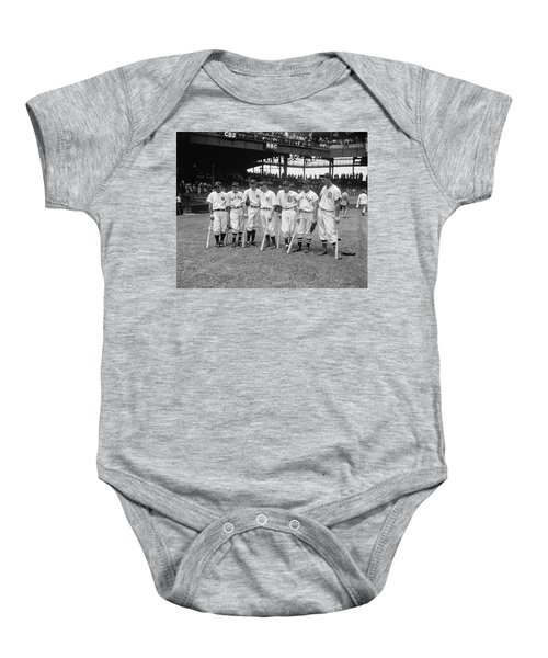 Baseball All Star Sluggers Baby Onesie