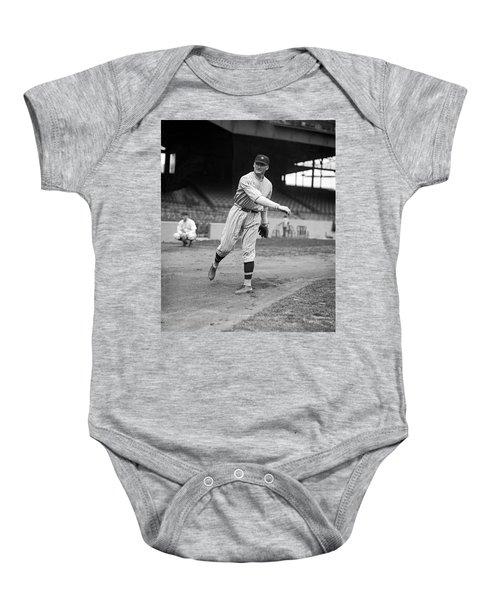 Baseball Star Walter Johnson Baby Onesie