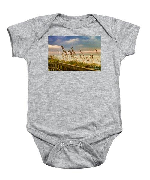 Beach Grass Baby Onesie