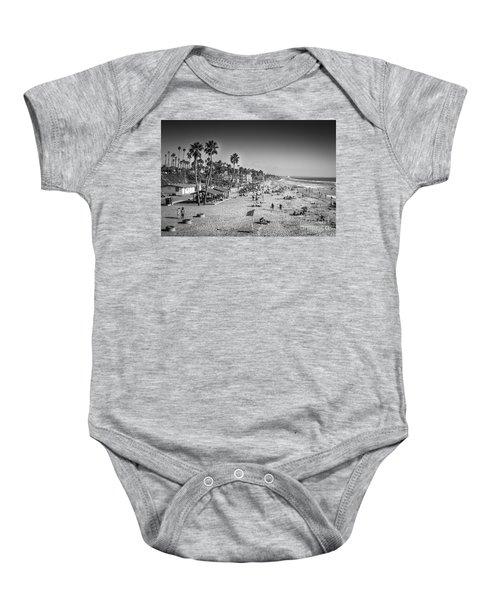 Beach Life From Yesteryear Baby Onesie