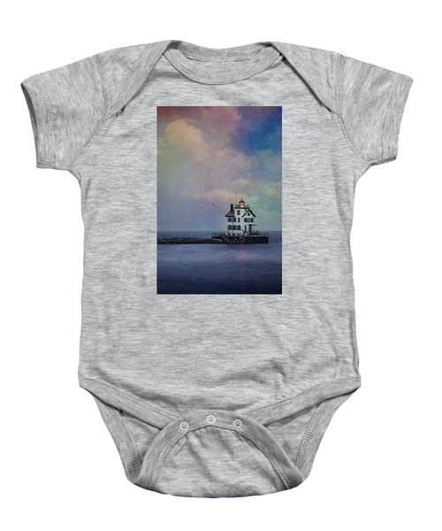 Beacon Of Light Baby Onesie