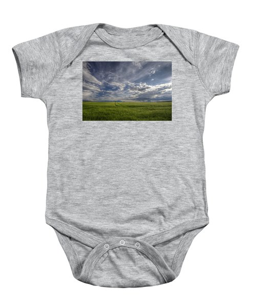 Beautiful Countryside Baby Onesie