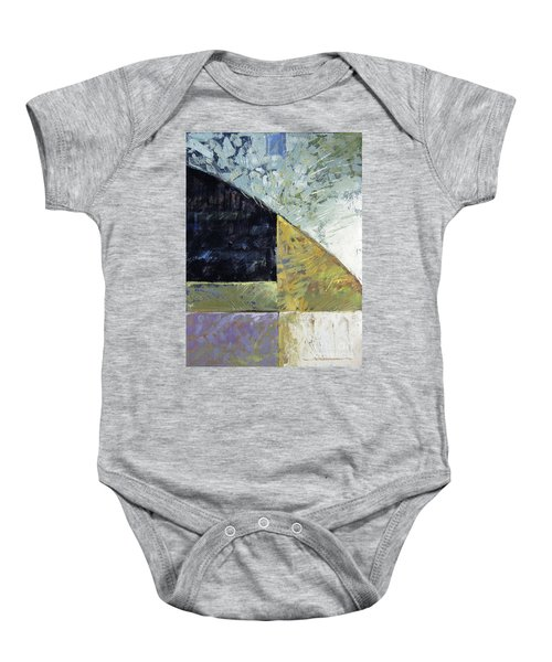 Bent On Abstraction Baby Onesie