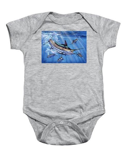 Big Blue And Tuna Baby Onesie