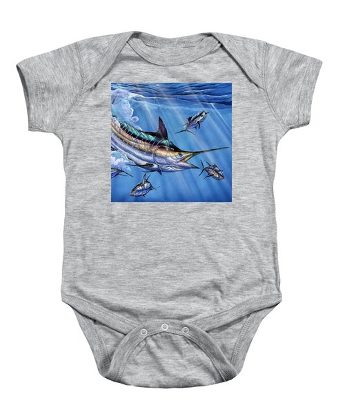 Big Blue And Tuna Baby Onesie