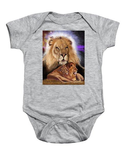 Third In The Big Cat Series - Lion Baby Onesie