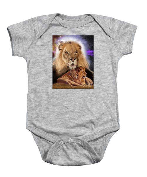 Third In The Big Cat Series - Lion Baby Onesie