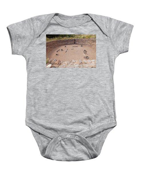 Big Kiva Bandelier National Monument Baby Onesie
