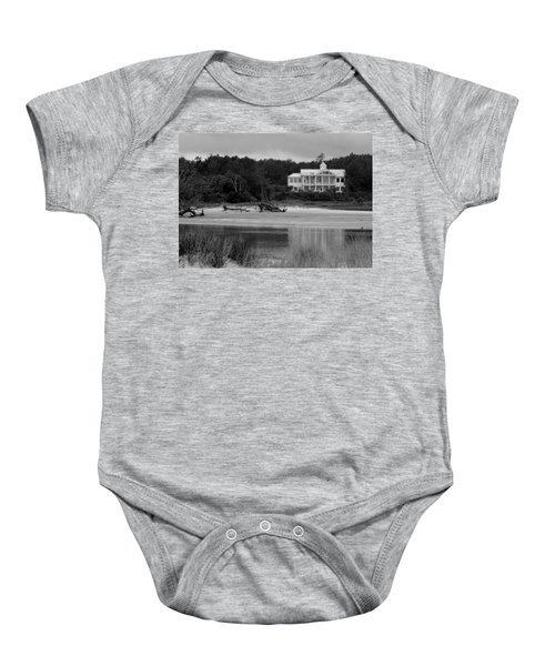 Big White House Baby Onesie