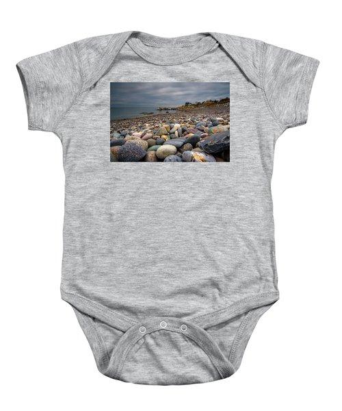 Black Rock Beach Baby Onesie