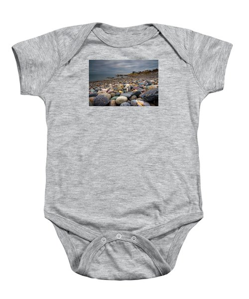 Black Rock Beach Baby Onesie