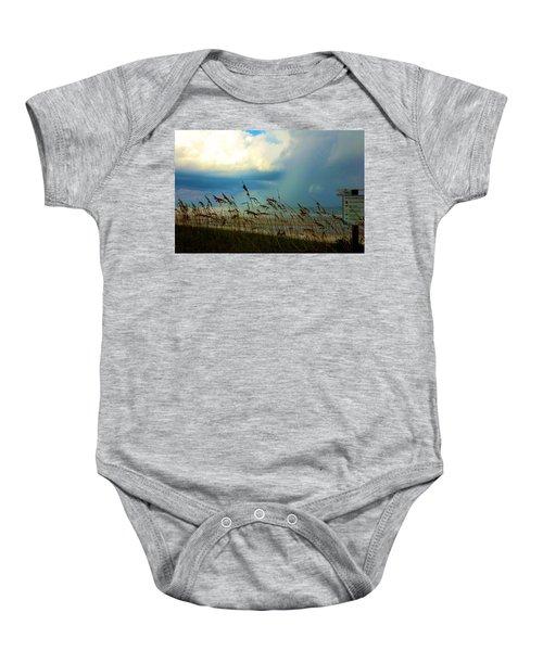 Blue Sky Above Baby Onesie