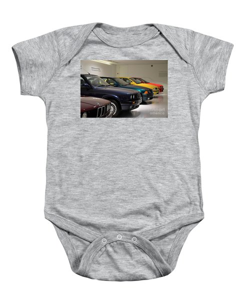 Bmw Cars Through The Years Munich Germany Baby Onesie