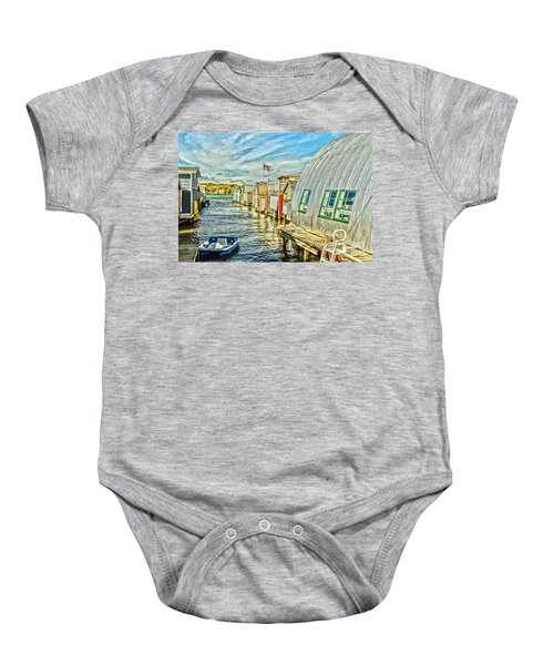 Boathouse Alley Baby Onesie