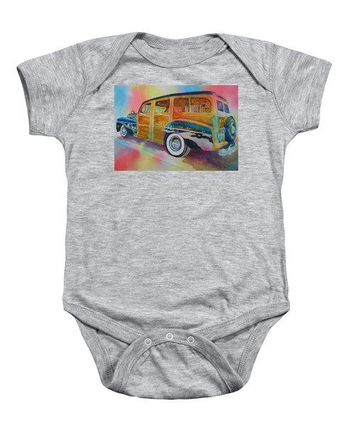 Boca Classic 42 Woody Baby Onesie