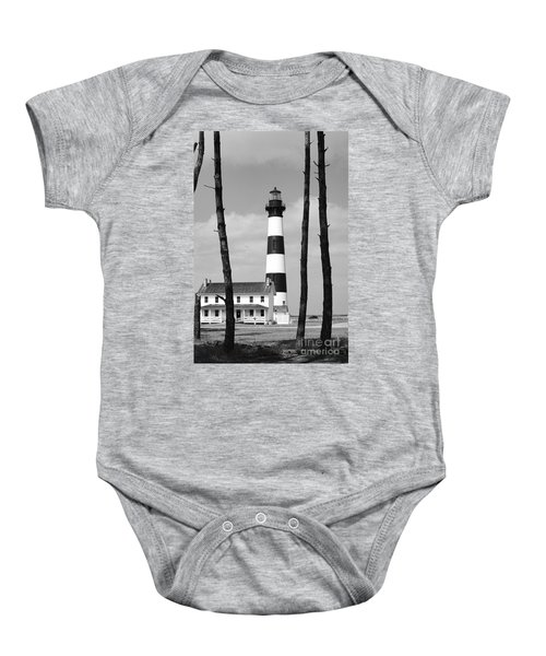 Bodie Island Lighthouse In The Outer Banks Baby Onesie