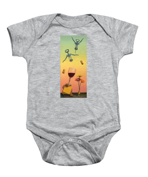 Body And Soul Baby Onesie