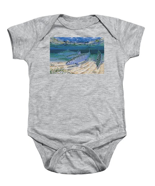Bonefish Flats In002 Baby Onesie
