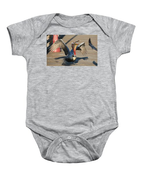 Bottoms Up  Baby Onesie