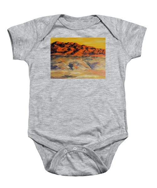 Brilliant Montana Mountains And Foothills Baby Onesie