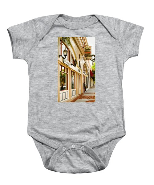 Brown Bros Building Baby Onesie