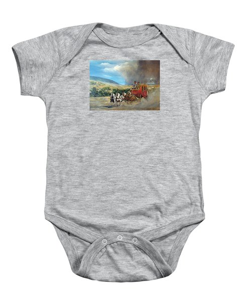 Business As Usual Baby Onesie