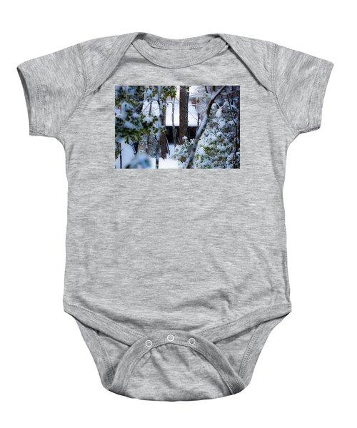 Cabin In The Woods Baby Onesie
