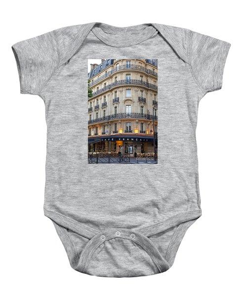 Cafe Francais Baby Onesie