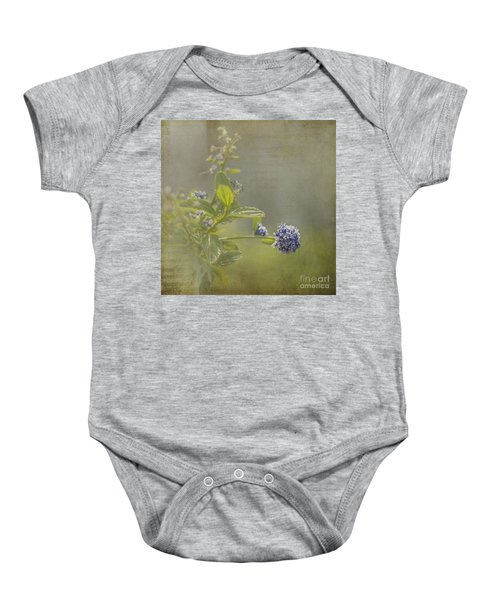 California Lilac Baby Onesie