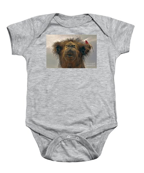 Camel In The Gobi- Mongolia Baby Onesie